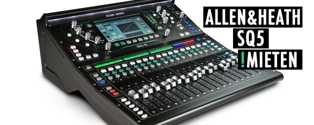 Allen & Heath SQ5 mieten / allen & heath rental
