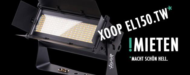 XOOP EL150.TW LED-Weißlicht | Messebeleuchtung mieten