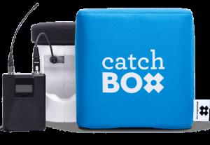 Catchbox in der Pro Variante – mit Taschensender