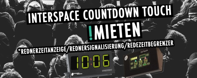 Interspace Countdown Touch Redezeitbegrenzer